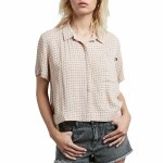 Volcom What You Need Short Sleeve T Shirt Womens-Mushroom-S