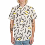 Volcom Bird Toss Short Sleeve T Shirt-White Flash-S