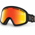 Von Zipper Trike Snow Goggle-Black Satin/Fire Chrome