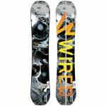 Wired Snowboards Mens Trek Split Twin Snowboard-159