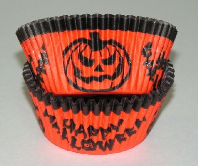 "1-1/4""X2"" Halloween Baking Cups 500 Count"