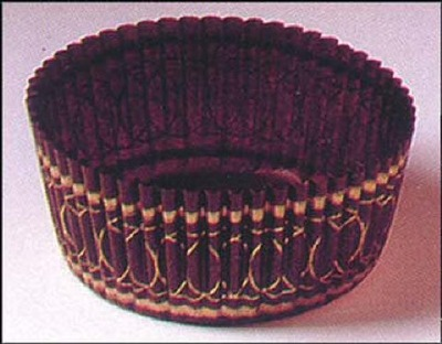 """1-1/8""""X2"""" Round Brown and Gold Baking Cups 500 Count"""