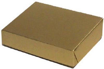 "1/2 Pound Gold Foil Box 1-1/2"" Tall"