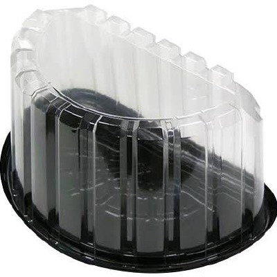 1/2 Round Plastic Cake Dome
