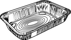 1/2 Shallow Steam Tray Pan
