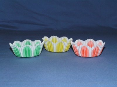 """1-3/16"""" X 2"""" Spring Baking Cups 500 Count"""