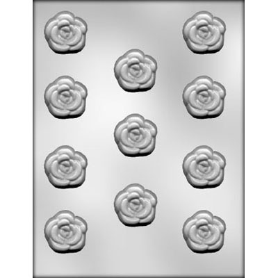 "1-3/8"" Rose Choc Mold (11)"