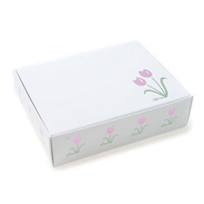 1/4 LB Tulip Print Candy Box