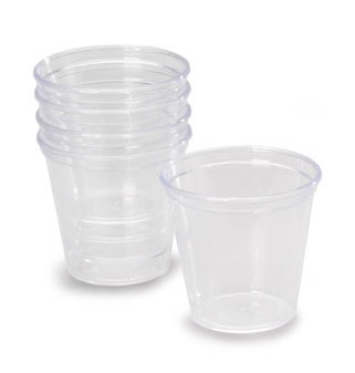 1 OZ Clear Portion Cups 50 CT