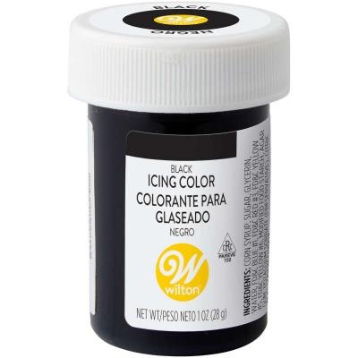 1 Oz Icing Color Black