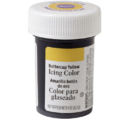 1 Oz Icing Color Buttercup Yel