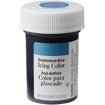 1 Oz Icing Color Delphinium Blue