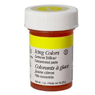 1 Oz Icing Color Lemon Yellow