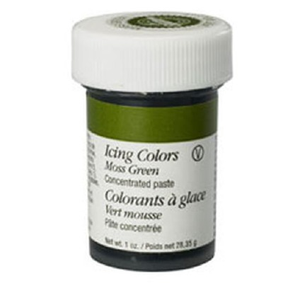 1 Oz Icing Color Moss Green