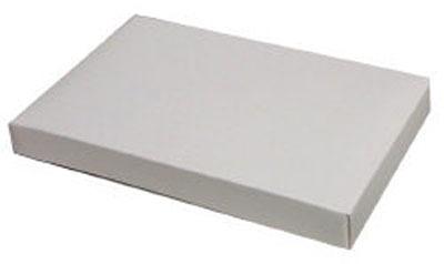 1 LB White 1 Layer Candy Box