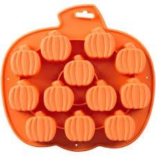 12 Cav Silicone Pumpkin Mold