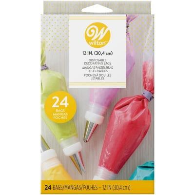 "12"" Disp Decorating bags 24 Count"