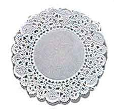 "12"" Doilies White 6 Count"