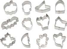 12-PC Halloween Mini Cutters