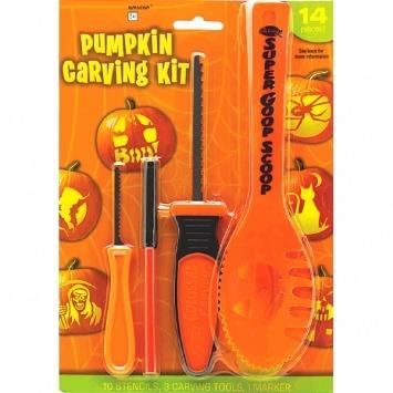 14-PC Pumpkin Carving Kit