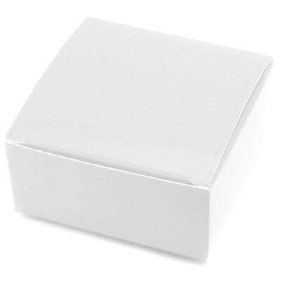 """2-1/2"""" Square White Maxi Box"""