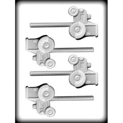 """2-1/2"""" Tractor Hard Candy Mold (4)"""