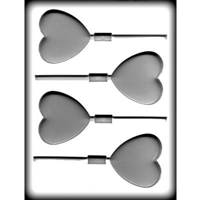"""2 5/8"""" Large Heart Lolly (4)"""