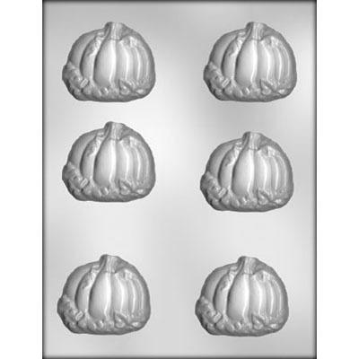 """2.5"""" Pumpkin w/ Leaves (6)"""