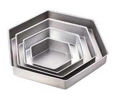 """2"""" Hexagon Pan Set 6/9/12/15"""