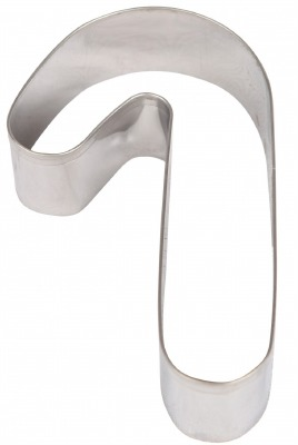 """3"""" Candy Cane Cookie Cutter"""