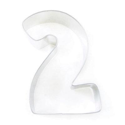 Cookie Cutter Number 2 Large