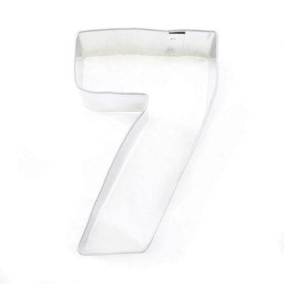 """3"""" Cookie Cutter Number 7"""