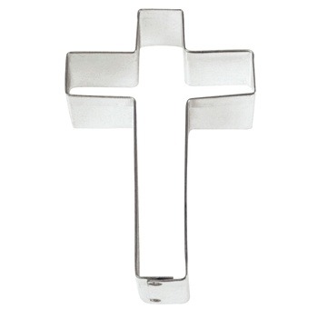 "3"" Cross Cookie Cutter"