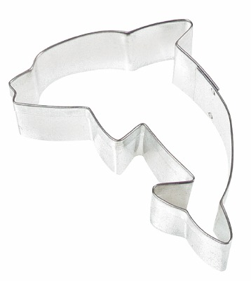 """3"""" Dolphin Cookie Cutter"""