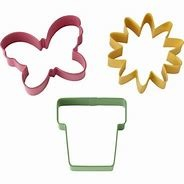 3-PC Spring Cookie Cutter Set