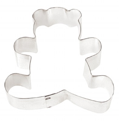 "3"" Sitting Bear Cookie Cutter"