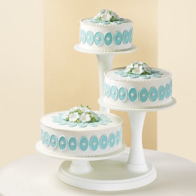 3-Tier Pillar Cake Stand