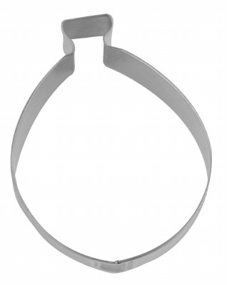 """3"""" Xmas Bulb Cookie Cutter"""