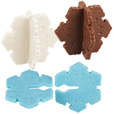 3D Snowflake Candy Mold