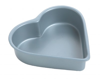 "4"" Heart Quiche Pan"