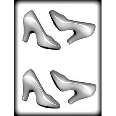 "4"" High Heel Shoe Hard Candy Mold (4)"