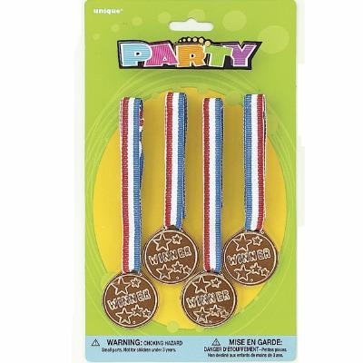 4 Winner S Medals