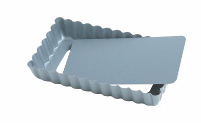 """4"""" X 2"""" Fluted Tart Pan Rectangle"""