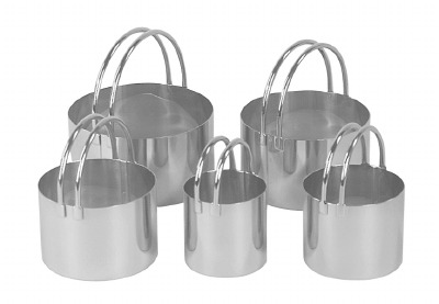 5-PC Round Cutter Set