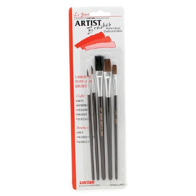 5-Piece Hobby Brush set
