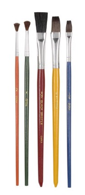 5-PK Candy Brushes