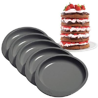 6 Inch Cake Pan Set 5 Piece