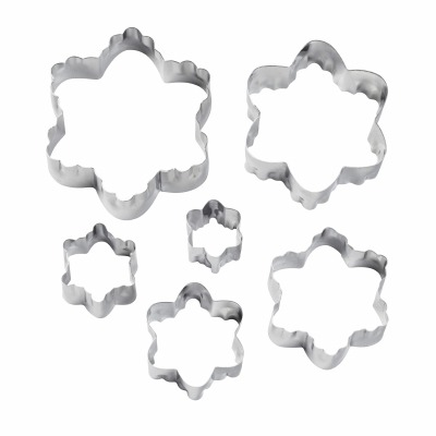 6PC Double Side Cutter Blossom