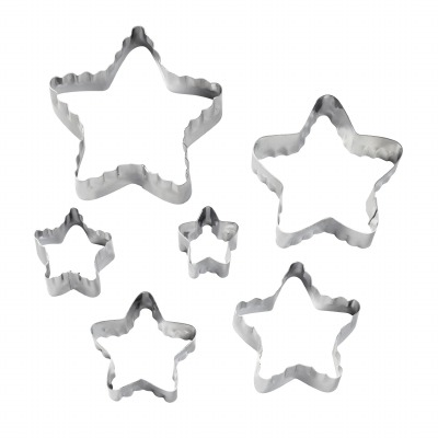6PC Double Side Cutter Star