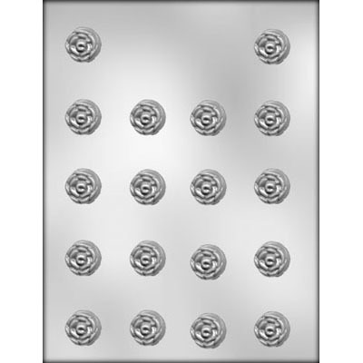 "7/8"" Rose Choc Mold (18)"